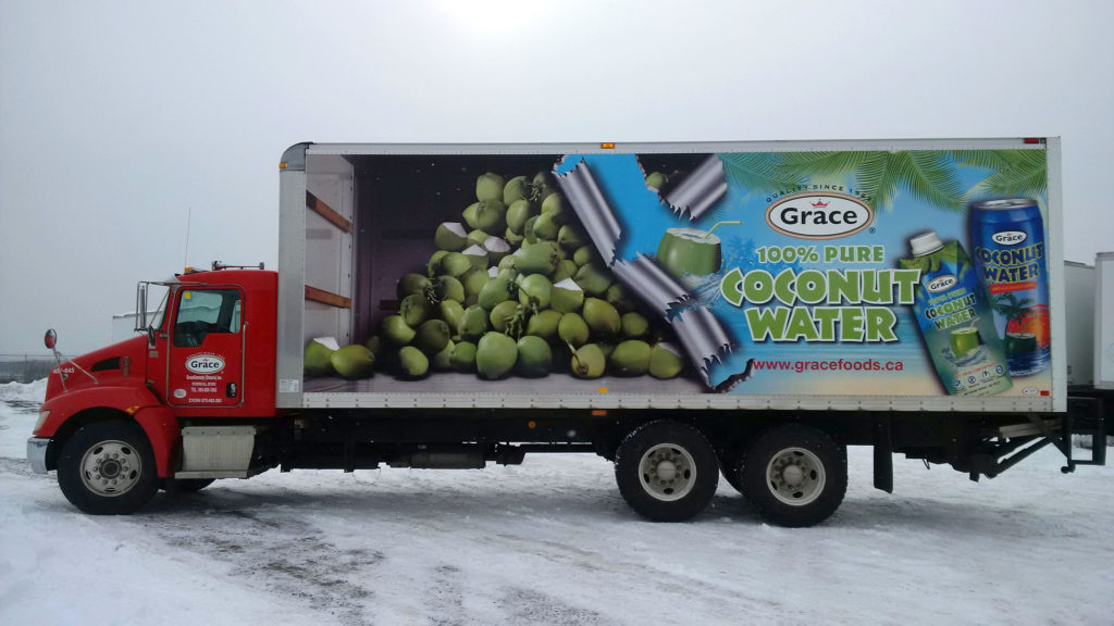 Grace Truck Graphics
